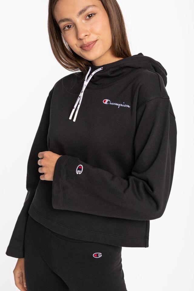 Hooded Sweatshirt 186 BLACK