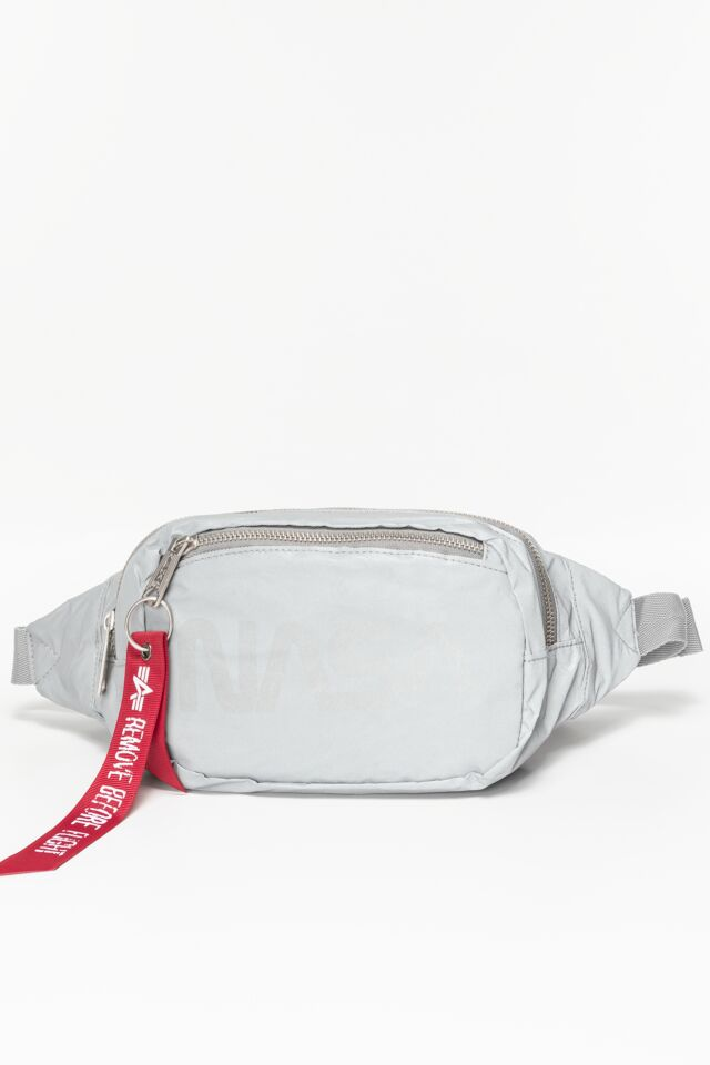 Nasa Waist Bag Reflective 911 SILVER
