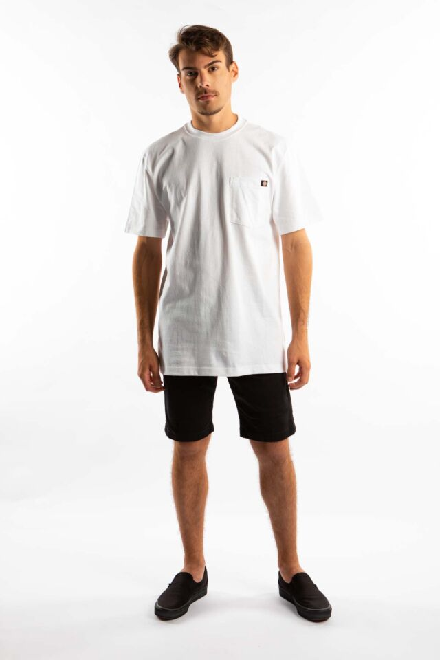 SHORT SLEEVE HEAVY WEIGHT 450 WH WHITE