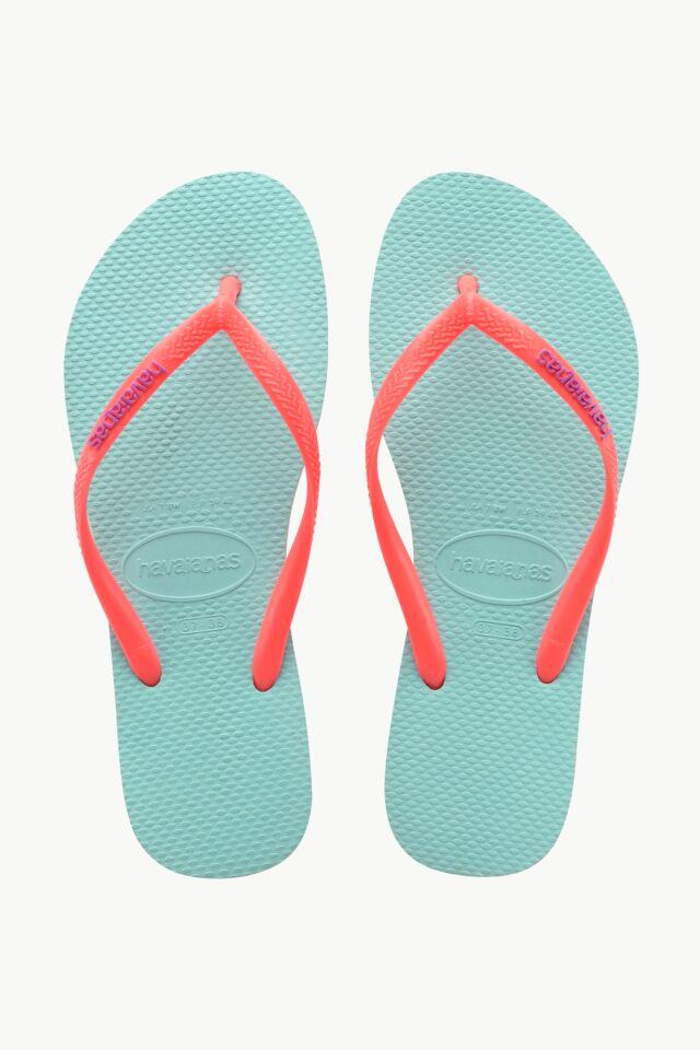 SLIM LOGO 0274P ICE BLUE/CORAL NEW