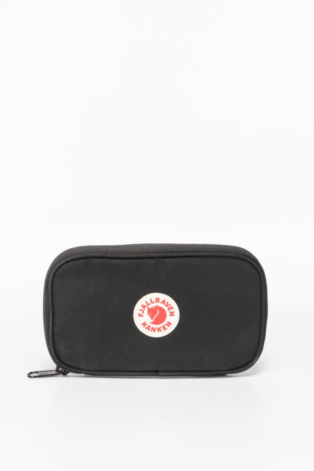 KANKEN TRAVEL WALLET 550 BLACK