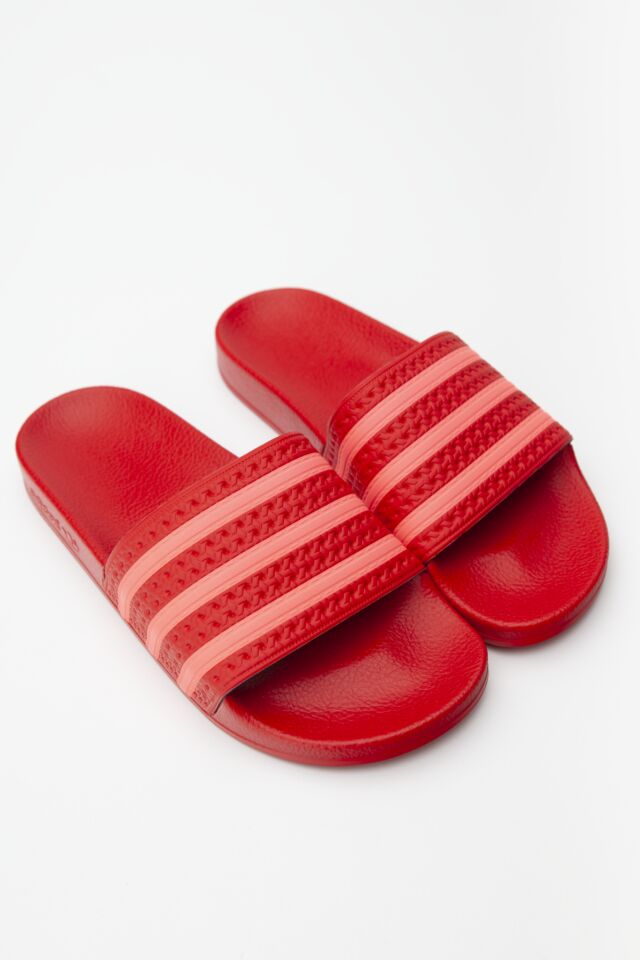 ADILETTE W 185 SCARLET/FLASH RED/SCARLET