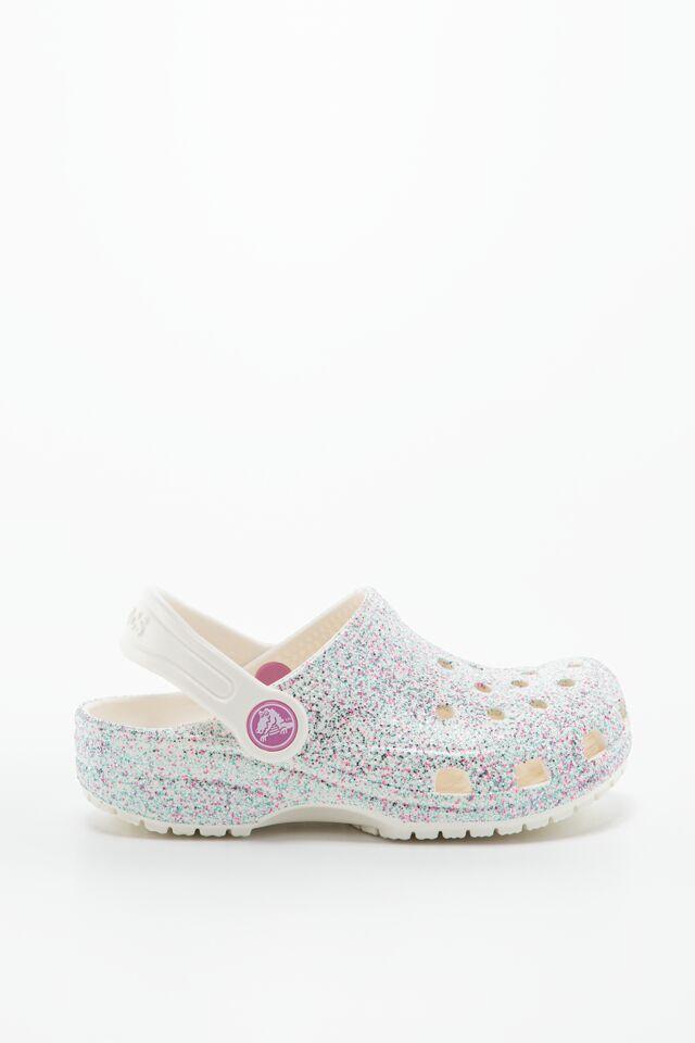 Kids' Classic Glitter Clog 205441-159