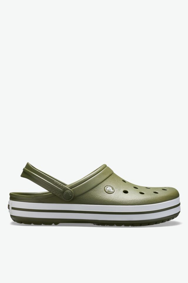 Crocband Army Green/White 11016-37P