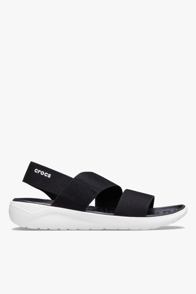SANDAŁY LITERIDE STRETCH SANDAL W BLACK/WHITE 206081-066