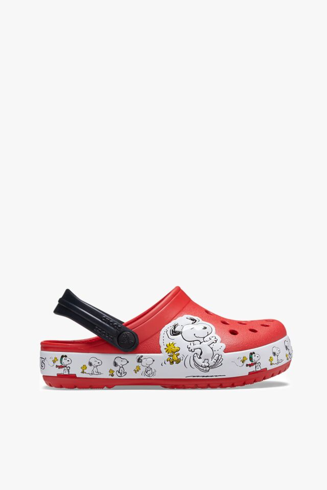 CROCSY SNOOPY WOODSTOCK CLOG KIDS FLAME 206176-8C1