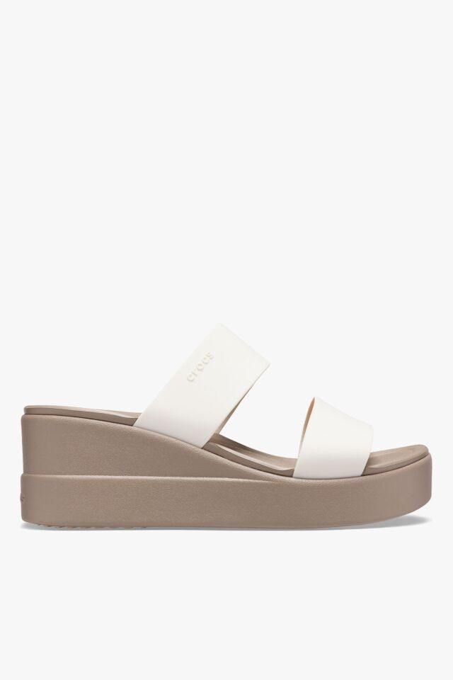 BROOKLYN MID WEDGE W STUCCO/MUSHROOM 206219-16T