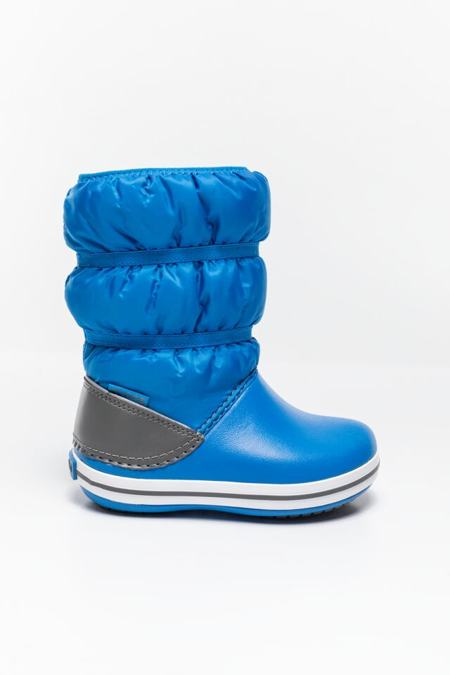 CROCBAND WINTER BOOT KIDS 206550-4JW BRIGHT COBALT/LIGHT GREY