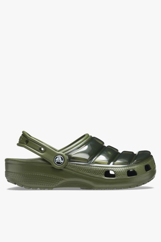 CLASSIC NEO PUFF CLOG 206624-309 ARMY GREEN