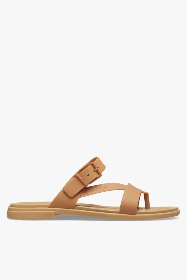 TULUM TOE POST SANDAL W DARK GOLD 206108-277