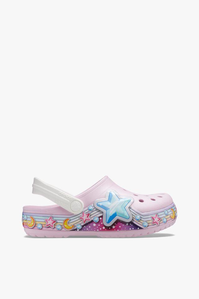 CROCSY FL STAR BAND CLOG KIDS BALLERINA PINK 207075-6GD