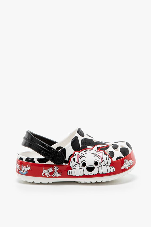 DZIECIĘCE KLAPKI Crocs FL 101 Dalmatians Clog 207193-100