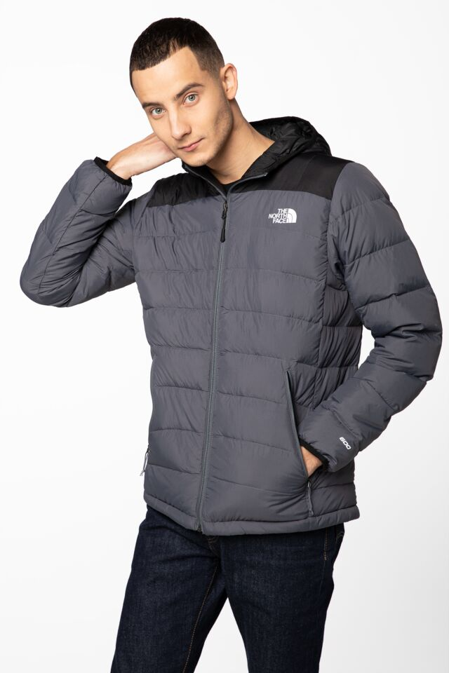 M LA PAZ HOODED JKT NF00CYG91741 BLACK/GREY
