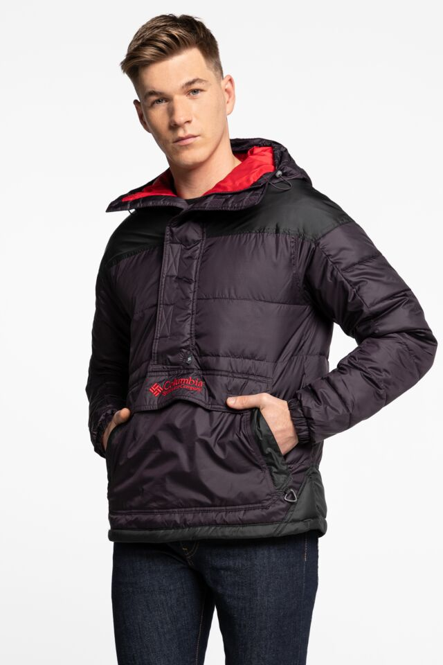Lodge Pullover Jacket 1864422-511 BLACK/PURPLE/RED