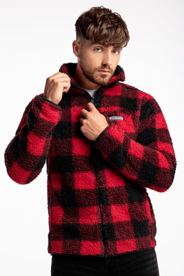 Winter Pass Print Fleece Full Zip 1866565-613