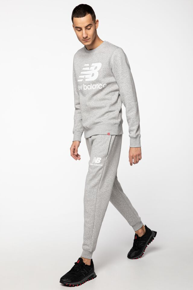 ESSENTIALS STACKED LOGO SWEATPANT NBMP03558-AG