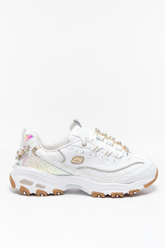 SNEAKERSY D'LITES GOOD FORTUNE 149246-WHT