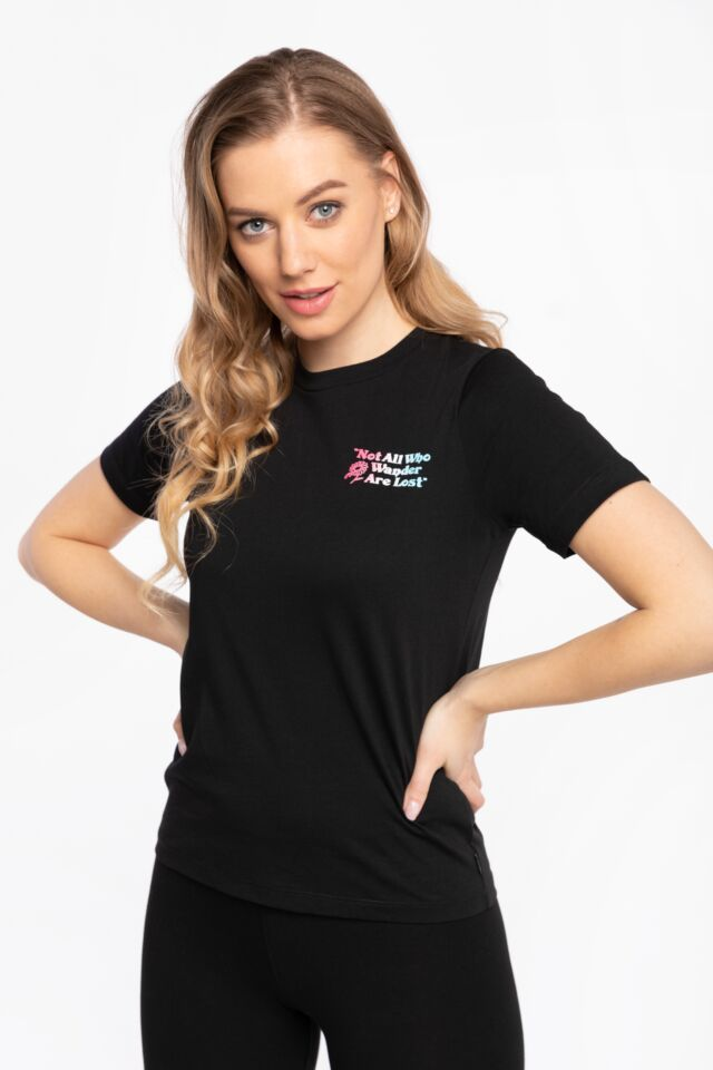 Z KRÓTKIM RĘKAWEM T-shirt 10022260-A01
