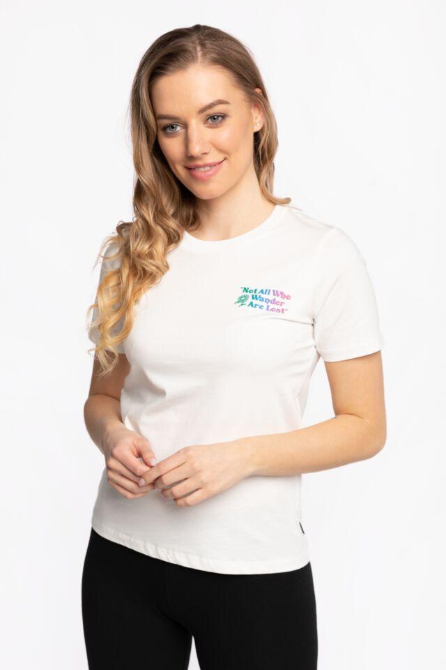 Z KRÓTKIM RĘKAWEM T-shirt 10022260-A02