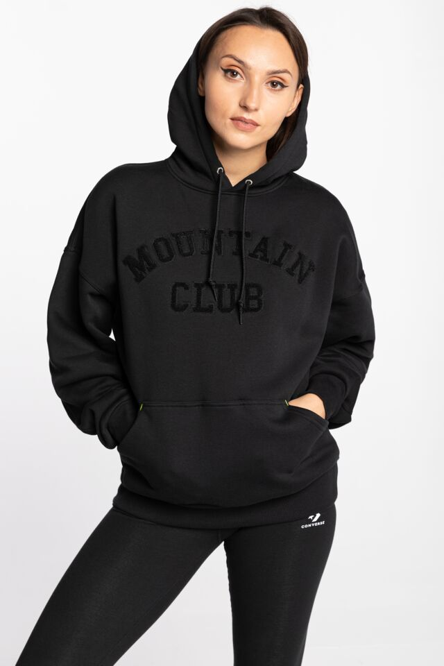 10020808-A01 W MOUNTAIN CL HOODIE BLACK