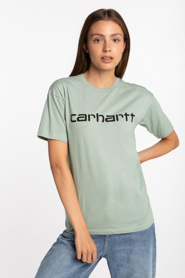 W' S/S Script T-Shirt I028442-0F390 MINT