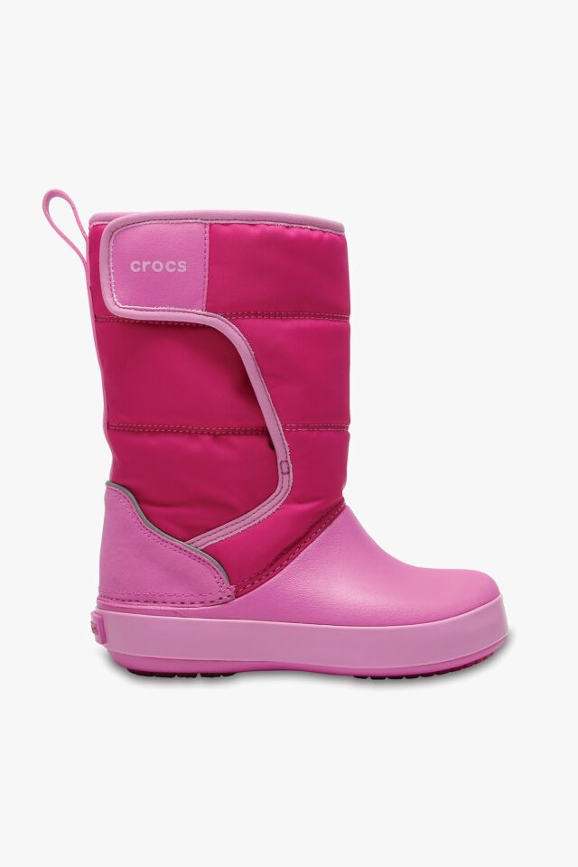 LODGE POINT SNOW BOOT K 204660-6LR CANDY PINK/PARTY PINK