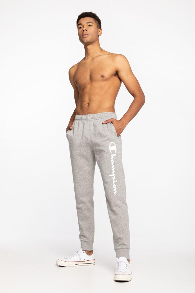Rib Cuff Pants 214953-EM006 GREY