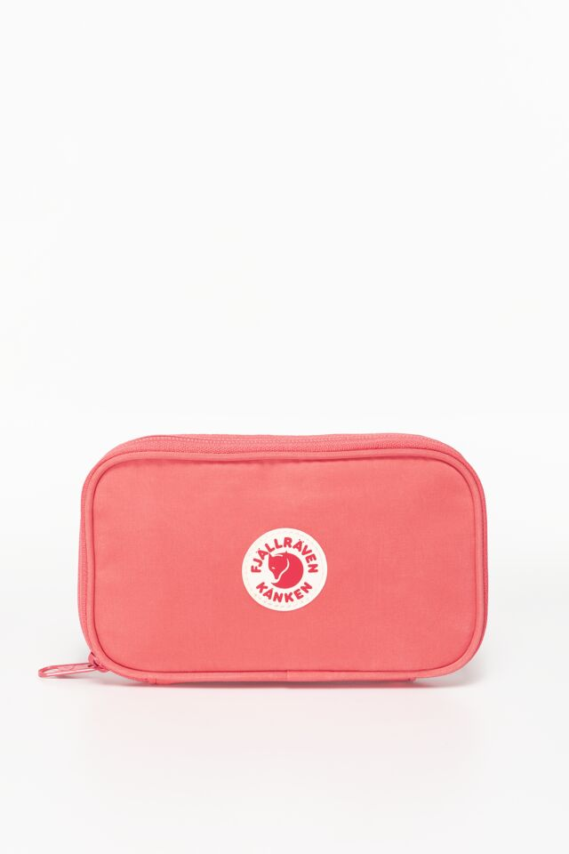KANKEN TRAVEL WALLET 319 PEACH PINK