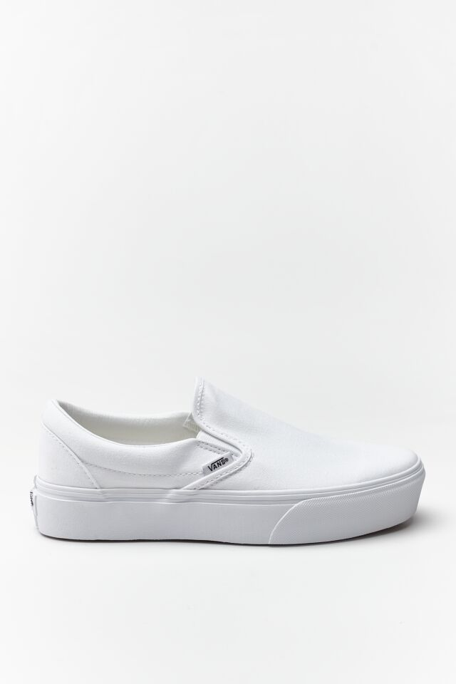 CLASSIC SLIP-ON PLATFORM W00 TRUE WHITE