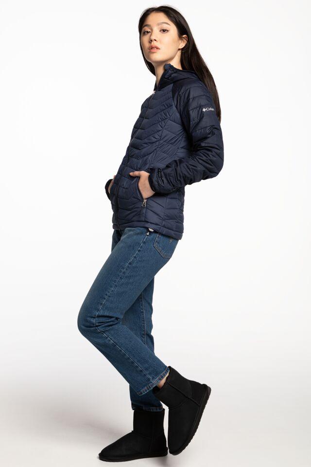 Powder Lite Hooded Jacket 1699071-470 NAVY