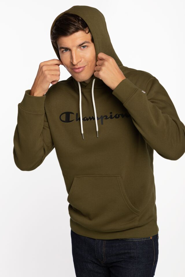Hooded Sweatshirt 214743-MS549 GREEN