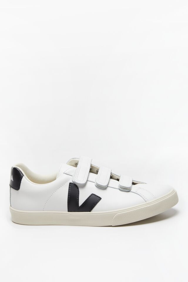 SNEAKERSY 3 LOCK BASTILLE LEATHER EXTRA WHITE BLACK TILAPIA EL020005A