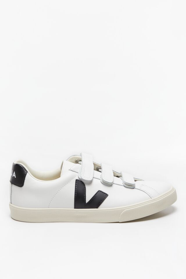 SNEAKERSY 3-LOCK LOGO LEATHER EXTRA-WHITE_BLACK EL020005B