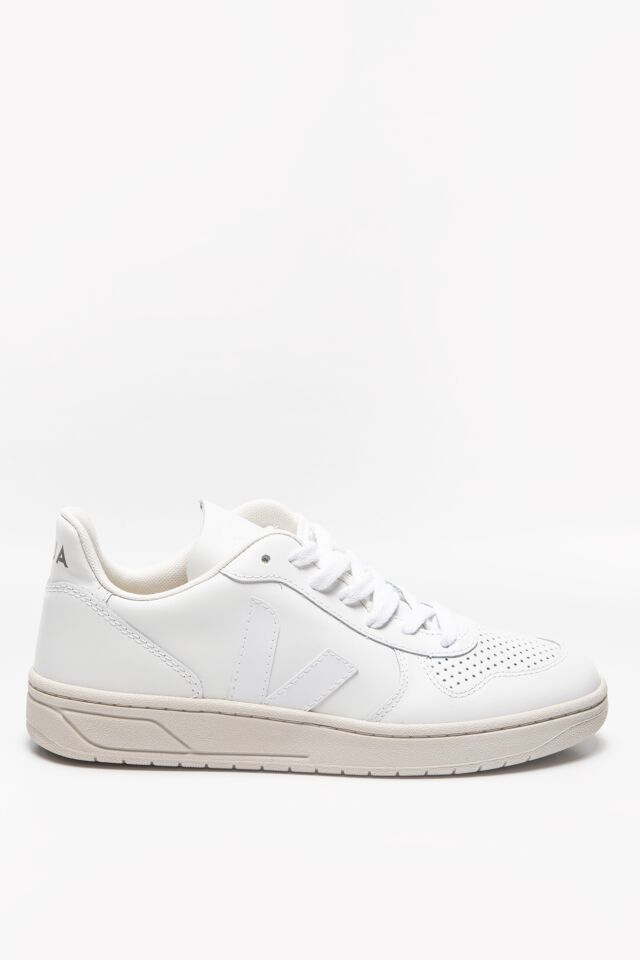 SNEAKERY V-10 LEATHER EXTRA-WHITE VX021270A