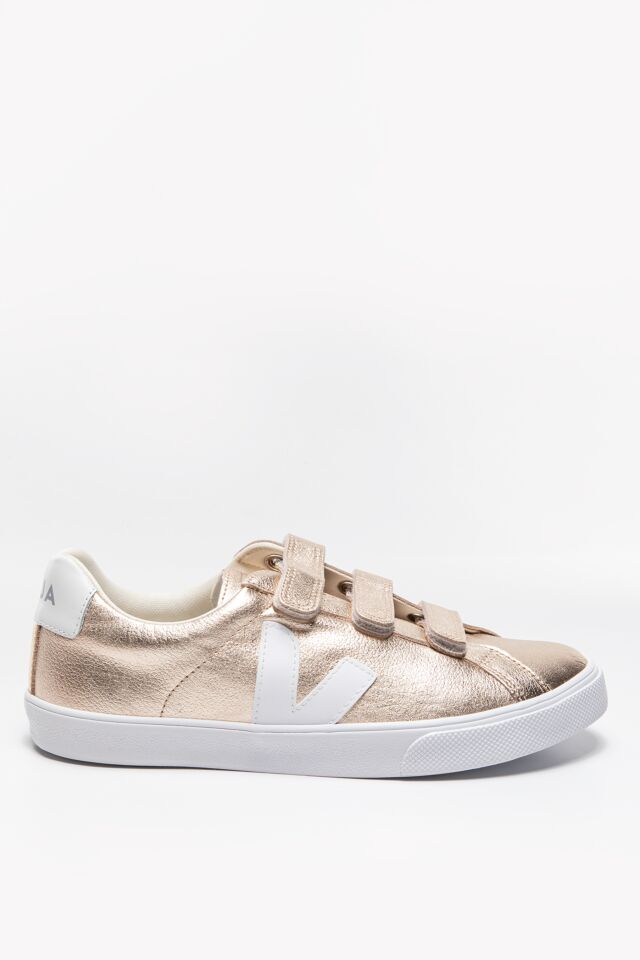 SNEAKERSY 3-LOCK LOGO LEATHER PLATINE_WHITE EL022412A