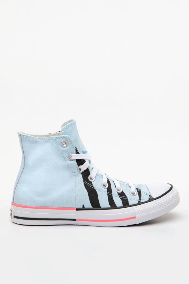 CHUCK TAYLOR ALL STAR SUN BLOCKED 662 AGATE BLUE/ELECTRIC BLUSH/BLACK