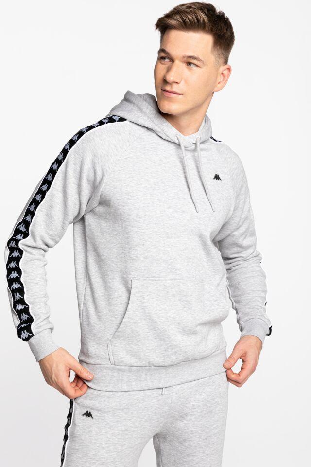 HARRO Men Hooded Sweatshirt 308017-4101M GREY