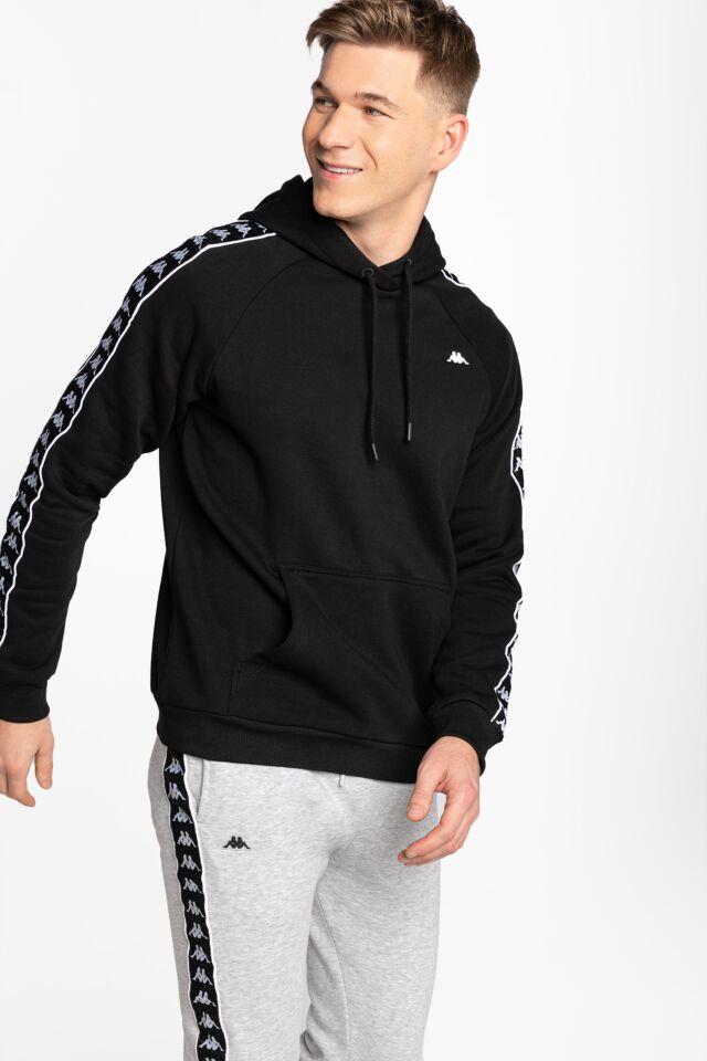 HARRO Men Hooded Sweatshirt 308017-4006 BLACK