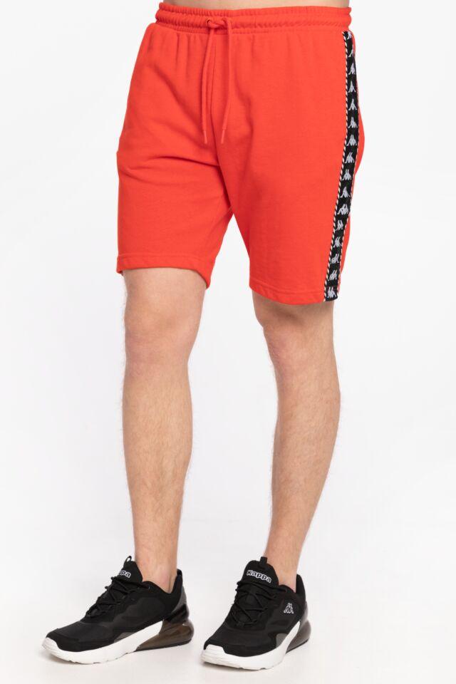 KRÓTKIE  ITALO Shorts, Regular Fit 309013 18-1664