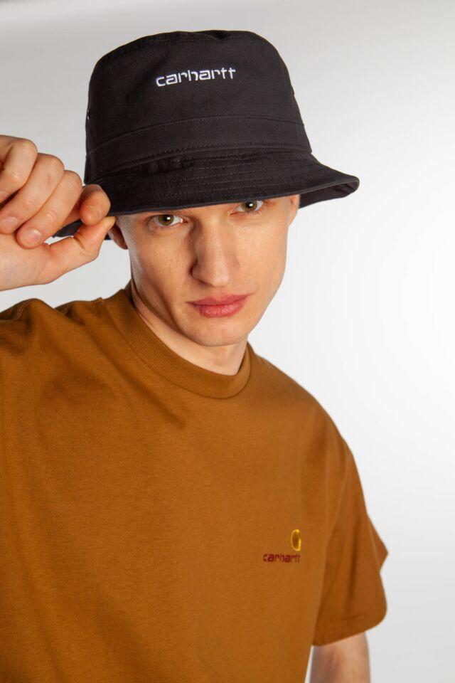 SCRIPT BUCKET HAT 8990