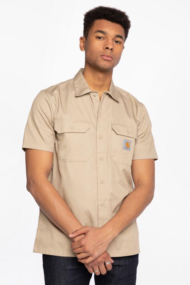 KOSZULA Z KRÓTKIM RĘKAWEM S/S Master Shirt I027580-G100
