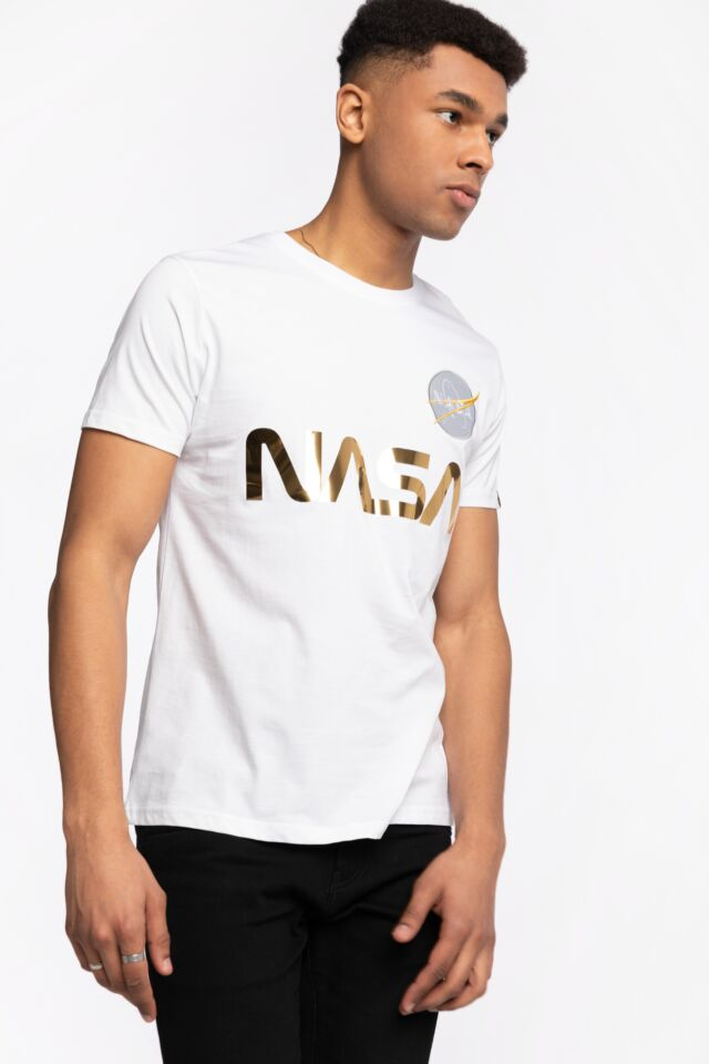 Z KRÓTKIM RĘKAWEM NASA Reflective T 178501-438