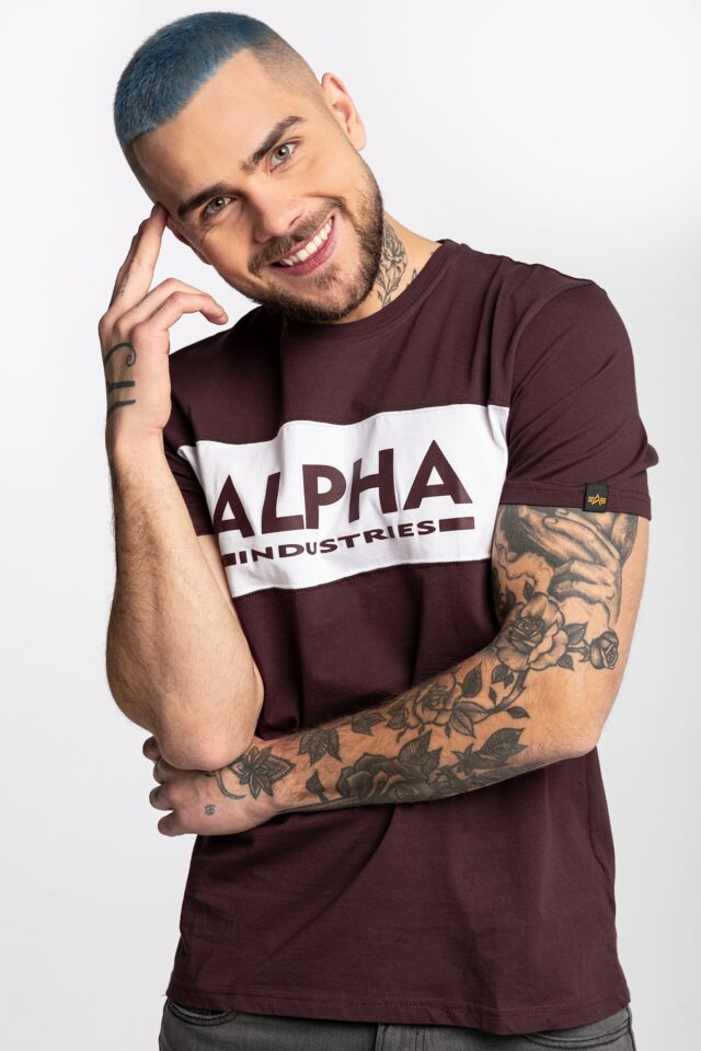 ALPHA INLAY T 21 DEEP MAROON