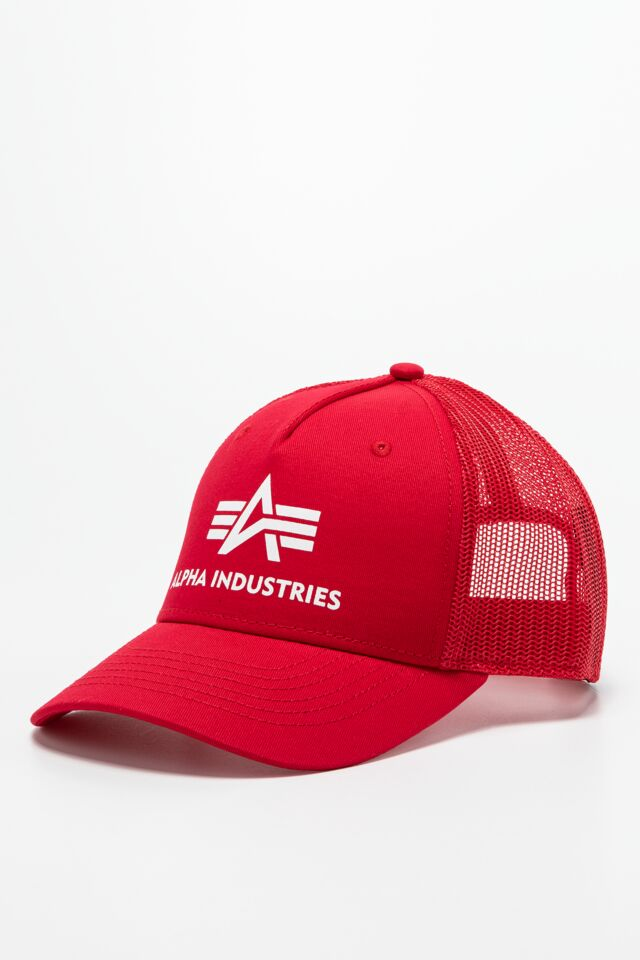 BASIC TRUCKER CAP 328 SPEED RED
