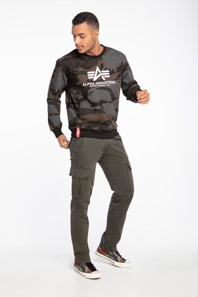 Basic Sweater Camo
