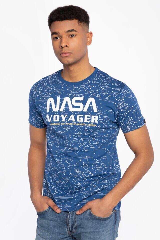 Z KRÓTKIM RĘKAWEM NASA Voyager AOP T-Shirt 116502-539