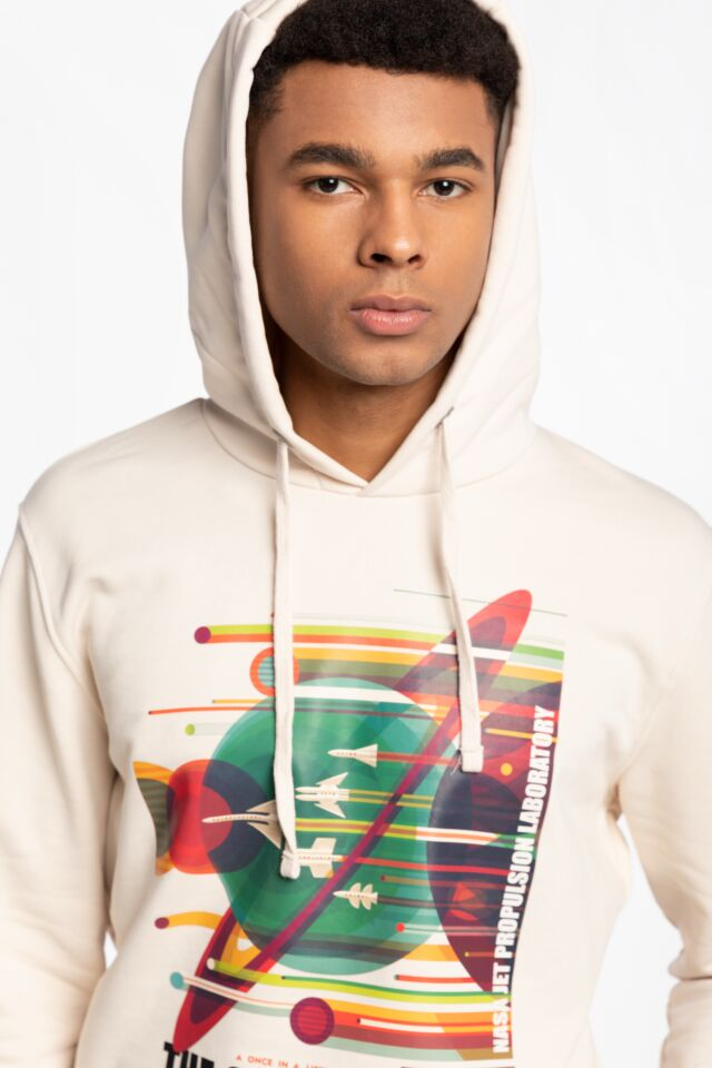 Z KAPTUREM NASA Grand Tour Hoody 116331-578