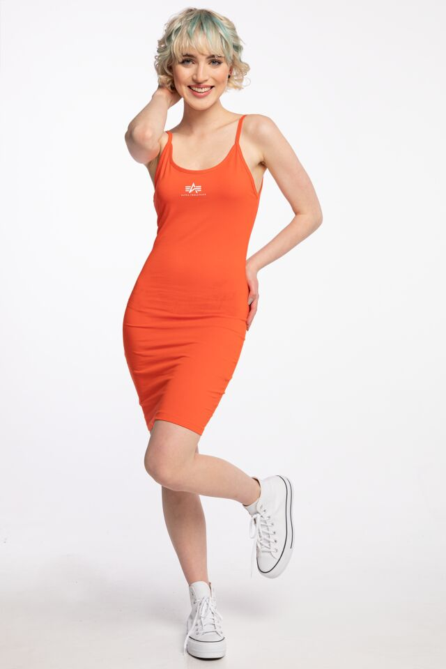SUKIENKA NA RAMIĄCZKACH Basic Dress Small Logo Wmn 116078-577