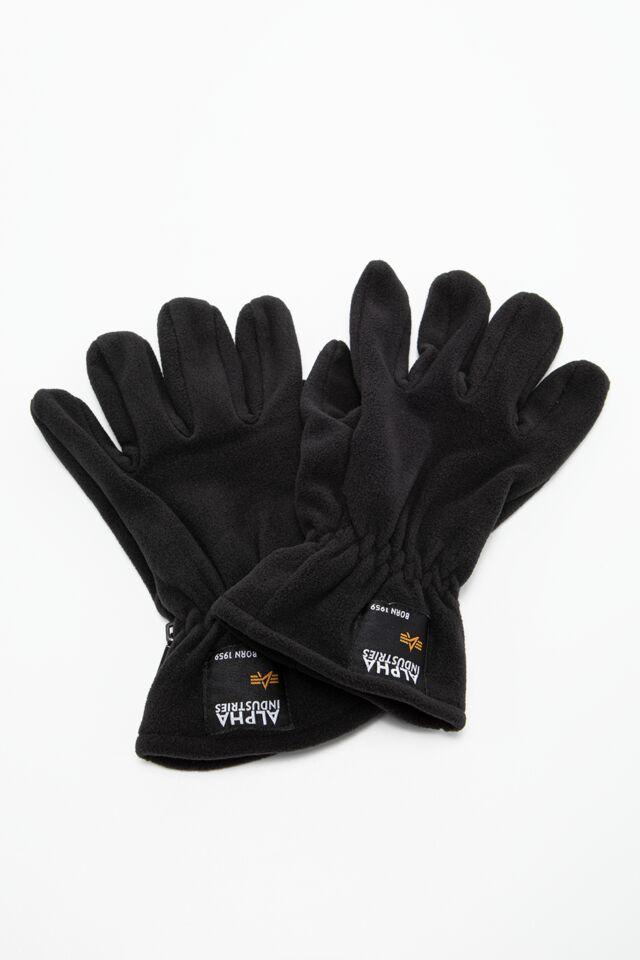 RĘKAWICZKI Label Fleece Gloves 118936-03