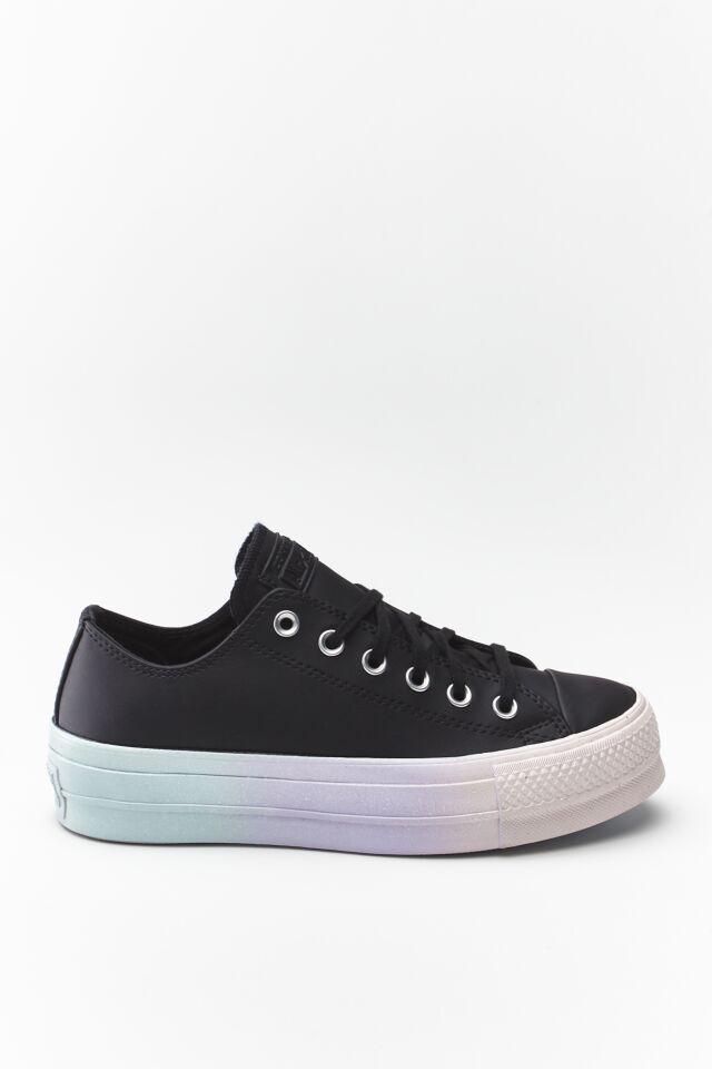 CHUCK TAYLOR ALL STAR LIFT OX 157 BLACK/WHITE/POLAR BLUE